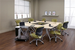 Modular Office Tables for Conference and Training Areas