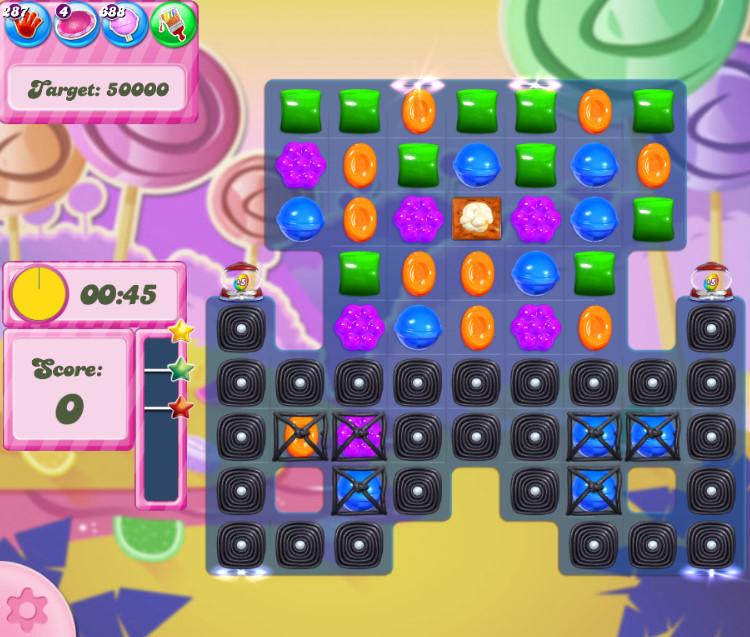 Candy Crush Saga level 2758