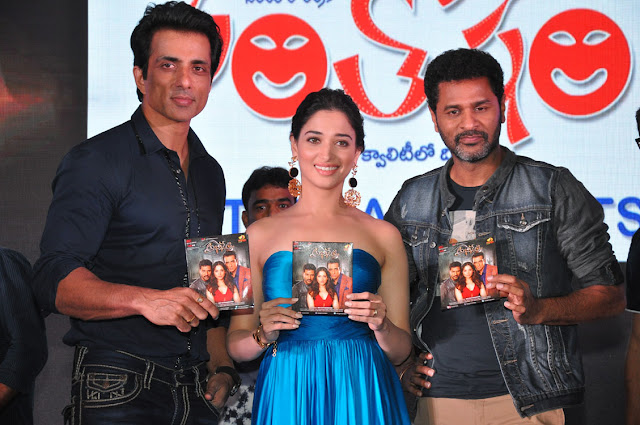 Abhinetri Telugu movie audio launch
