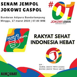 Usai Tur Jalan Tol, Almisbat Ajak Rakyat Senam Jempol Jokowi Gaspol