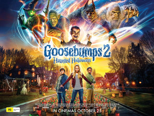 Goosebumps 2 Haunted Halloween|Dual Audio  HDRip 480p ESub x264