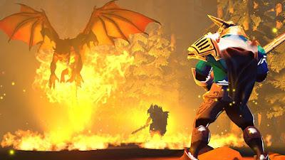 Dota 2 Dragon Knight Vs Sven Wallpaper