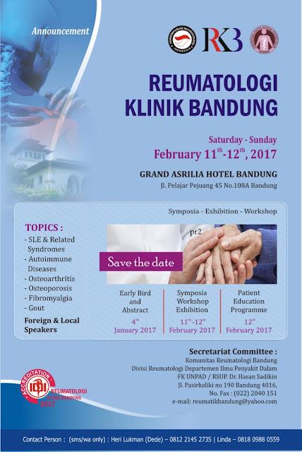 RKB 2017-Reumatologi Klinik Bandung 2017 (11-12 Februari 2017)