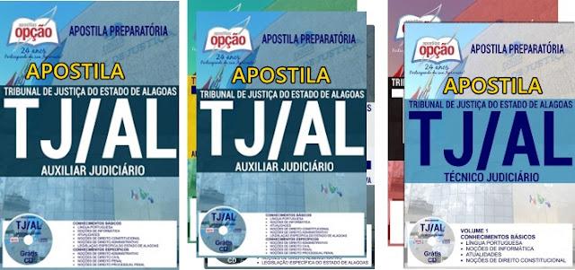 Apostila concurso TJ Alagoas: cargos-técnico judiciário e analista judiciário