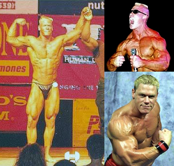 TIL John Cena used to compete in his early 20's : bodybuilding