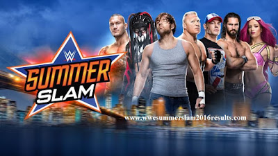 Summerslam 2016 Results