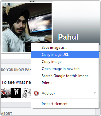 How To Open or View Facebook Locked Profile Picture