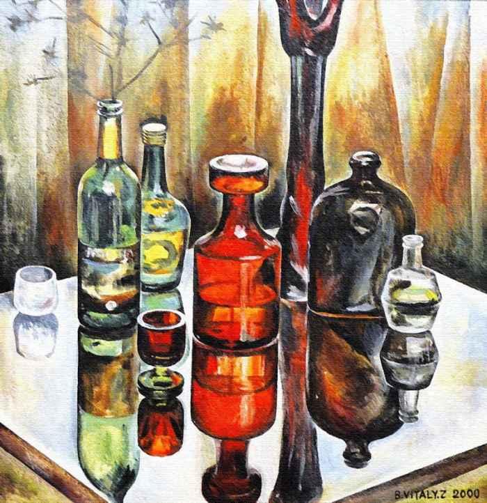Испанский художник. Vitaly Zasedko