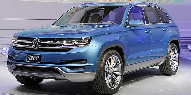 Crossblue From Vw Volkswagan 6 Penger Suv Ford Explorer Compeors New Tiguan Prepare For The Entry Level Market And Touareg In Premium
