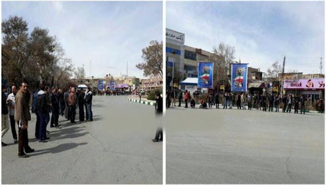 کارگران خشمگین کارخانه هپکو اراک