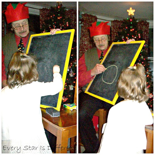 Nutcracker themed pictionary game