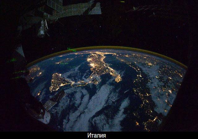 Ночная Земля из космоса 25