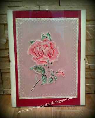 Pergaminowa róża