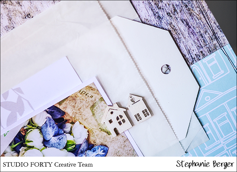 Stephanie Berger - Scrapbooking - Studio Forty - Ranunculus love