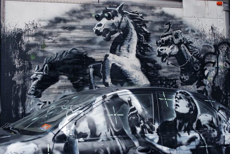 e7fada37c30e The Great Banksy Debate: Artist, Vandal, or Publicity Whore?   City ...