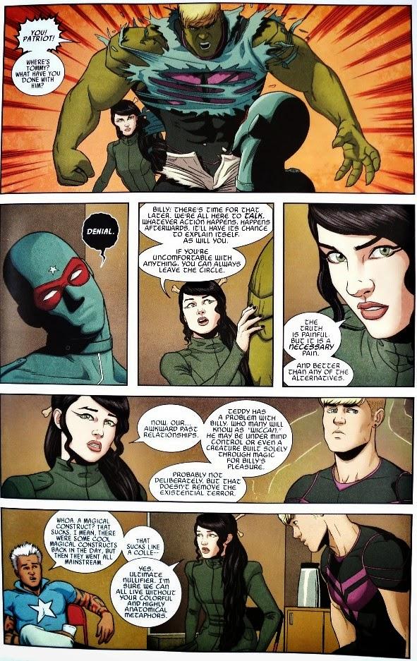 Arion's Archaic Art: Young Avengers # 10 - Kieron Gillen ...
