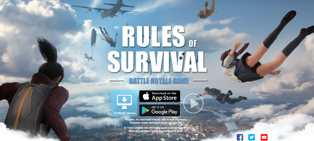 Cara Fullscreen Rules Of Survival PC