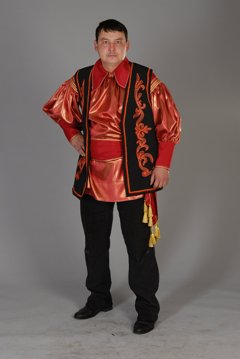 Одежда хакасов фото