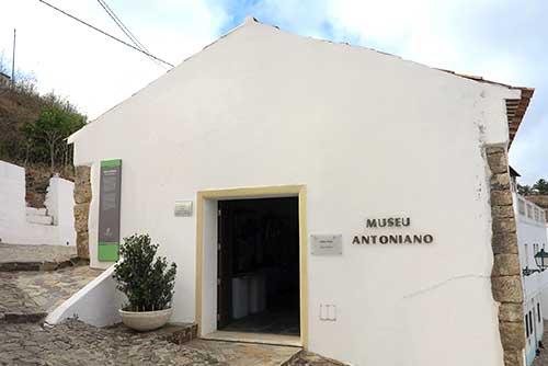 Museu Antoniano Aljezur, Algarve, Portugal.