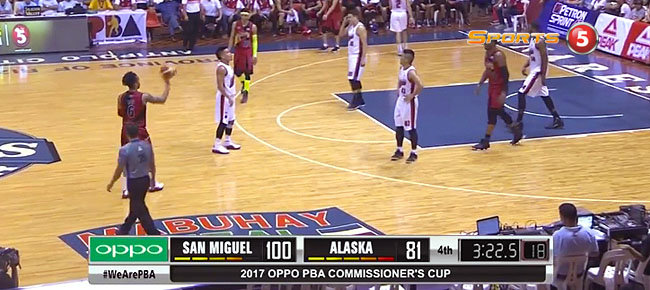 San Miguel def. Alaska, 109-97 (REPLAY VIDEO) May 27