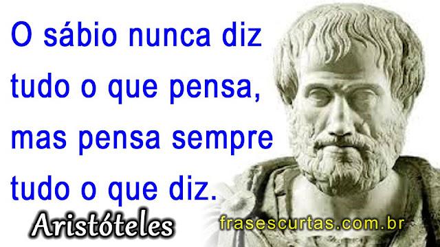 Resultado de imagem para frases e pensamentos de Aristóteles