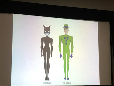 SDCC DC Collectibles Reveal The New Batman Adventures Catwoman and Riddler FIgures Batman Animated