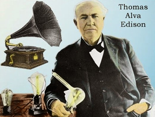 Thomas Alva Edison Photo
