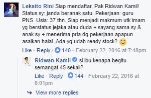 Gaya Kocak Ridwan Kamil Dalam Posting Info Di Sosmed Bikin Senyum-senyum!