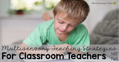 multisensory teaching techniques