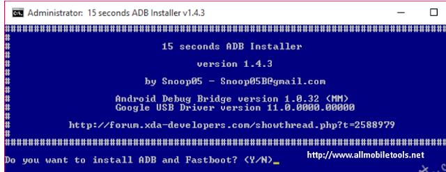 15 seconds adb installer v1.4.3