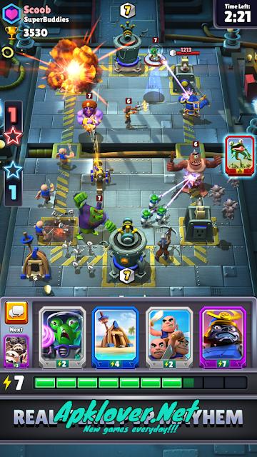 Chaos Battle League MOD APK unlimited mana