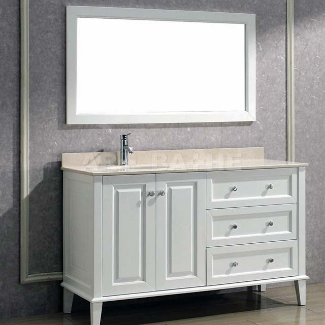 Bathroom vanities with offset sinks ayanahouse 48 inch bathroom vanity right side sink