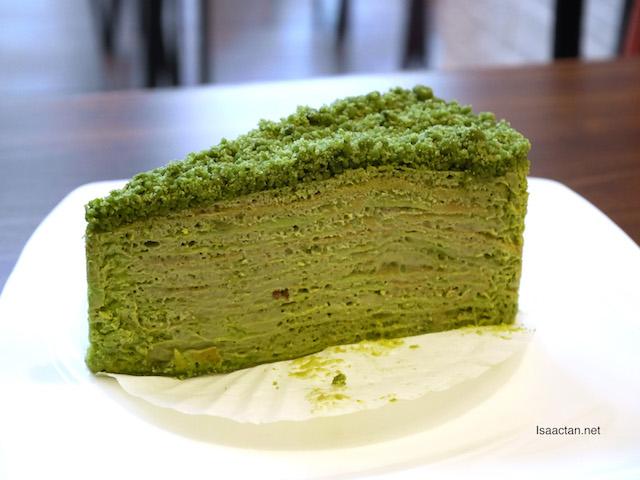 Matcha Green Tea Mille Crepe - RM13