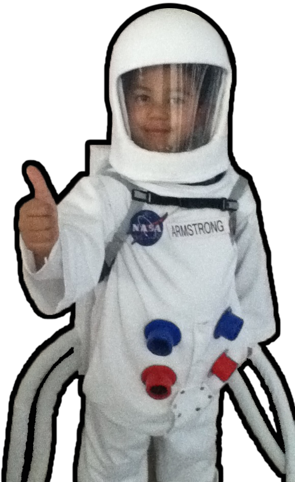 neil armstrong in astronaut uniform - photo #14