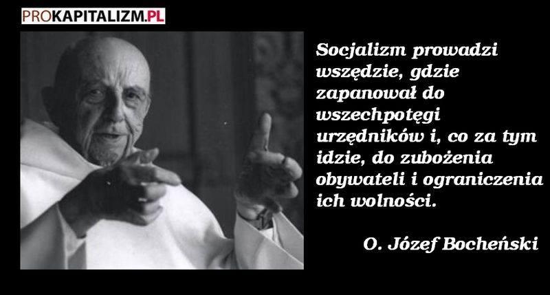 Wolnościowe Cytaty Józef Maria Bocheński