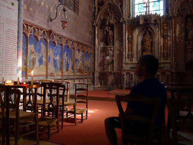 De Paris à la Rochelle en vélo couché, Eglise de Illiers Combrais