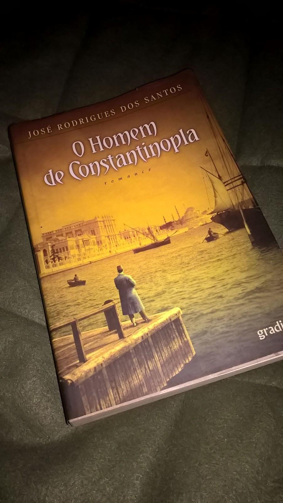 Lido: O Homem de Constantinopla, de José Rodrigues dos Santos