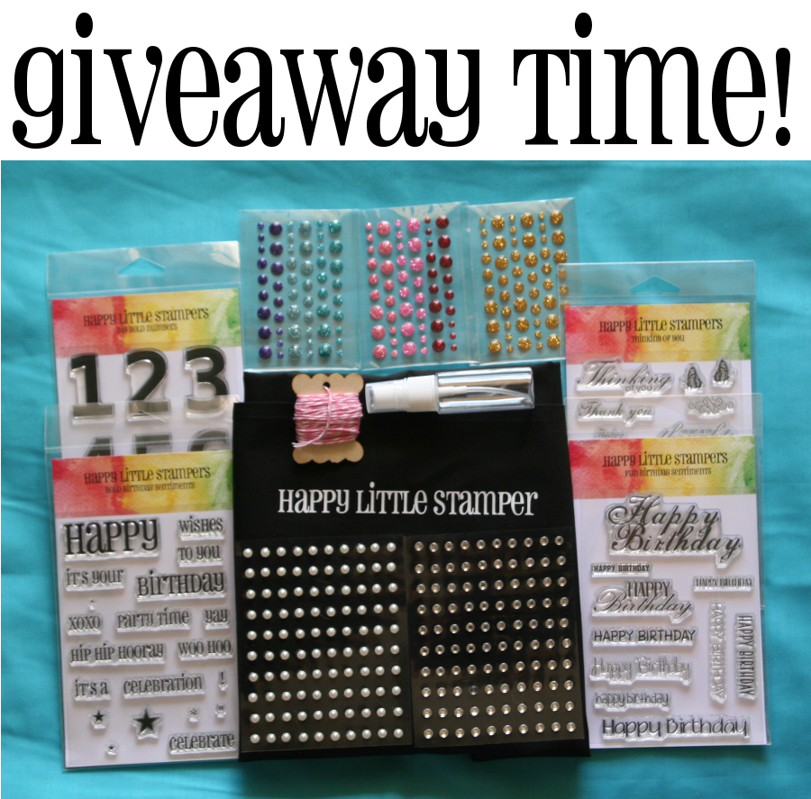 Happy Little Stampers Give-Away