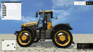 JCB Fastrac tractor (version 3.0)
