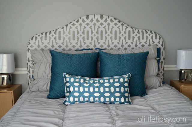 Diy Headboard A Little Tipsy