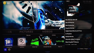Special Enhanced Version of XBMC available on the G-Box MX2