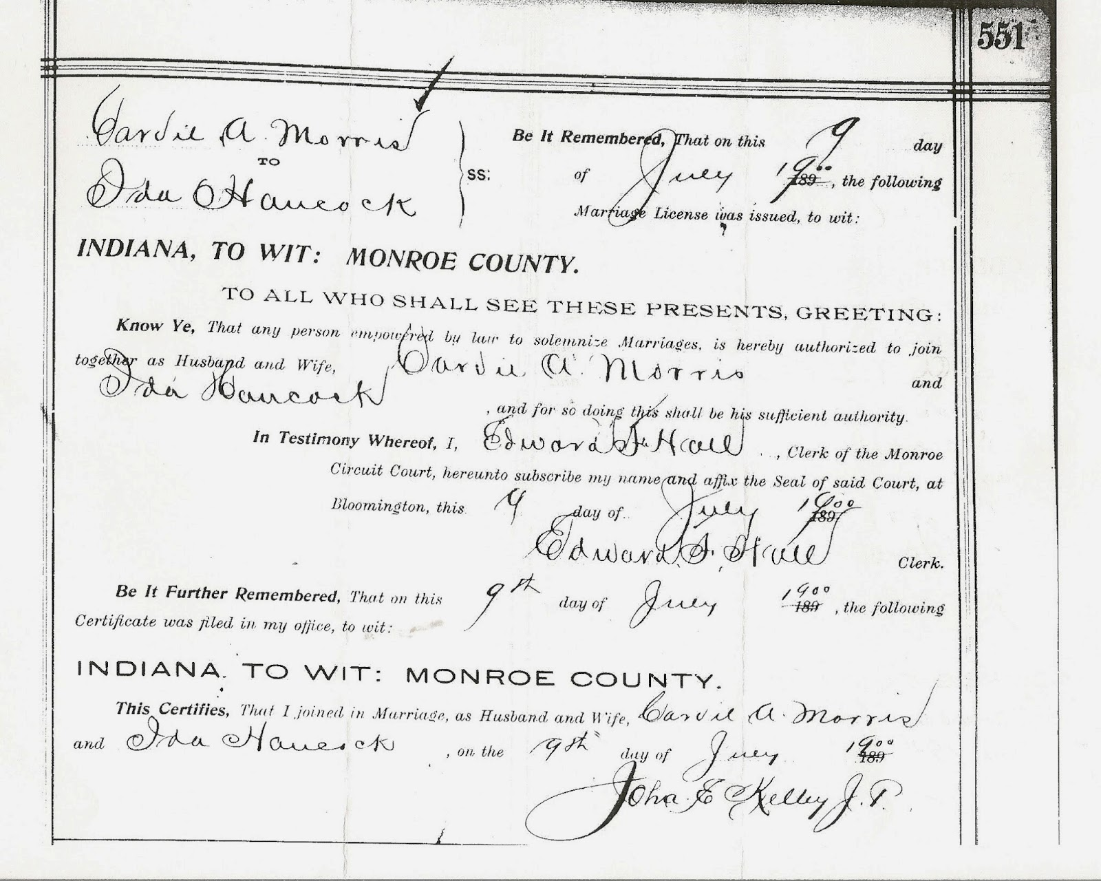 Monroe county indiana marriage records