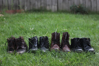 Boots in the Yard