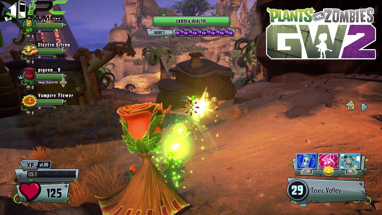 Gen Way Plants Vs Zombies Garden Warfare 2 Pc Game Free Download