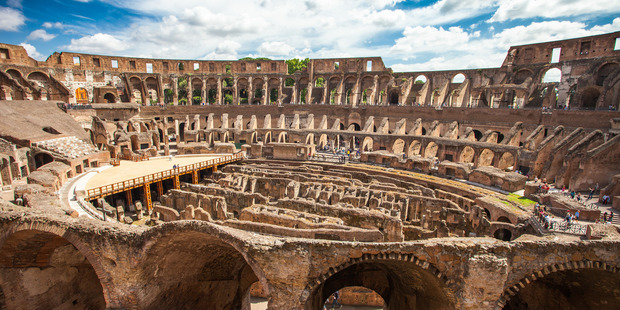 Italy fears for Colosseum as 'cracks get bigger' after each quake