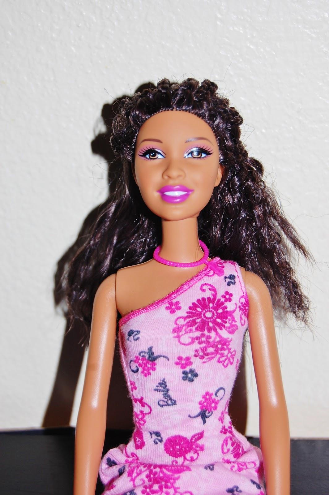 Temporary Waffle Diy Barbie Hair Curls