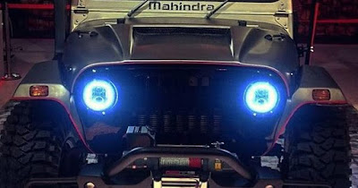 Mahindra Thar Daybreak Edition led headlight