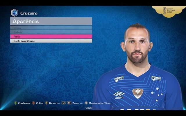 Hernan Barcos Face PES 2018