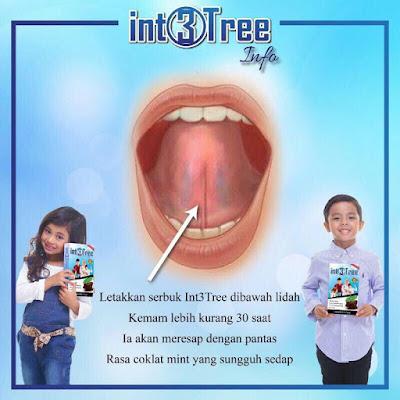 letakkan bawah lidah int3tree