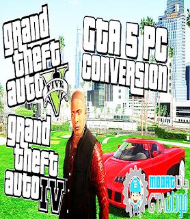 تحميل مود تحويل جتا 4 الى جتا 5 شرح طريقة التركيب How To Convert Gta IV To Gta V